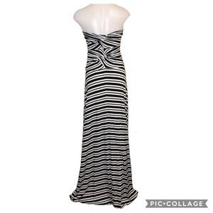 Felicity & Coco Striped Maxi Tall Strapless Wrap